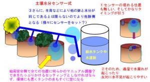 水分センサー式の自動給水器の欠点