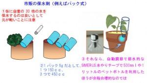 土壌保水材の限界