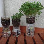 SIMERUS水やりテープのペットボトル植木鉢 スプラウト 栽培ステージごと