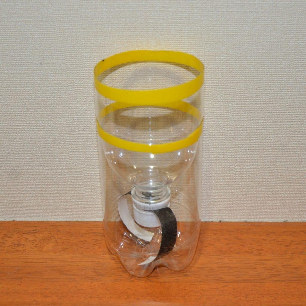 SIMERUS水やりテープPETボトル植木鉢全体構造