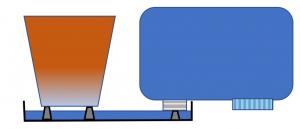 長期給水の方法 概要図 底面給水植木鉢 底面潅水