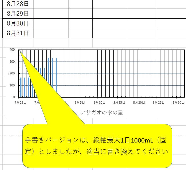 エクセル表フォーマット データシート 表示詳細