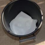 楽々底面給水シート(水面設置型)による底面給水鉢 土こぼれ防止
