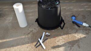 SIMERUS水やりテープで底面潅水鉢(部品集)