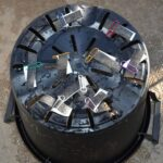 SIMERUS水やりテープで底面潅水鉢(部品のセットの仕方)実際の設置例