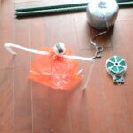 大きなペットボトルによるSIMERUS水やりテープ 組み立て