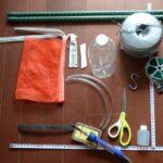 大きなペットボトルによるSIMERUS水やりテープ(タレ瓶活用型)給水 材料