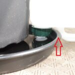 給水タンク吐出口と設定水位
