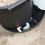 底面設置用 底面給水鉢の台座 楽々底面給水シートセット例 ウエットティッシュの末端処理法